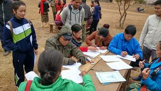 Participatory enumeration, Laos