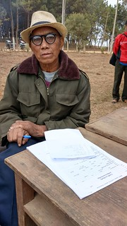 Community member, Laos