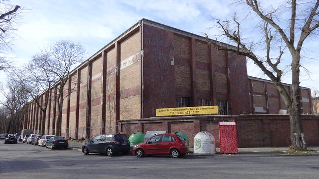 1937/40 Berlin Werkhalle der Altmärkischen Kettenwerke (ALLKETT) Namslaustraße/Sterkrader Straße 49-59 in 13507 Tegel