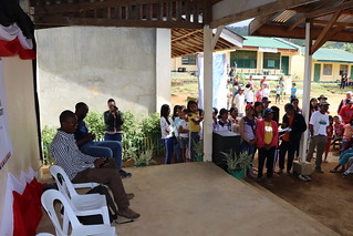 Discussions with community members on land issues