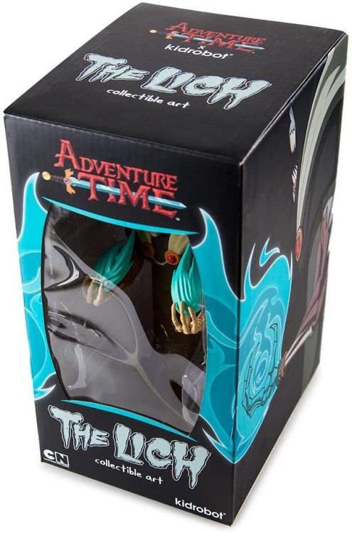 你被催眠了快醒醒~KIDROBOT《探險活寶》陰魔王 8吋人偶作品(Adventure Time The Lich Figure)