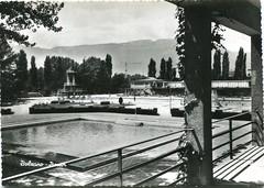 postcard - bolzano - lido - anni 50