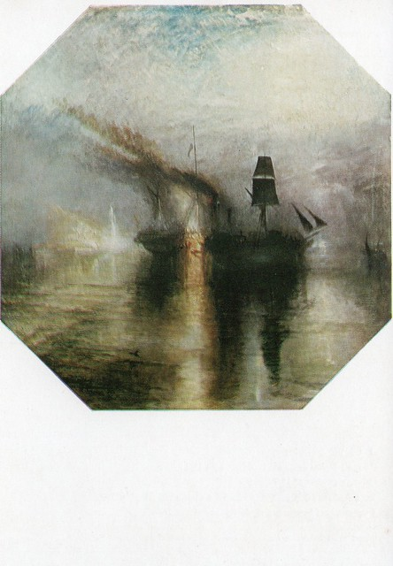 Joseph Mallord William Turner ''Burial at Sea'' (Tate Gallery, London)