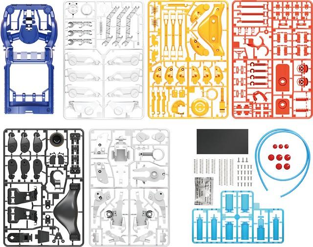 防疫神器爆誕?!完全自行組裝的流體動力機械手『CYBORG HAND』4月開賣!サイボーグハンド