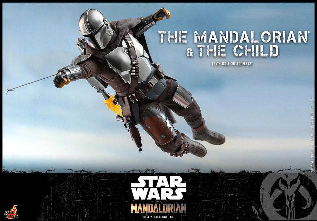 帶著可愛的尤達寶寶,披上全新裝甲帥氣現身! Hot Toys – TMS014 -《曼達洛人》曼達洛人與孩子 The Mandalorian and The Child 1/6 比例人偶套組