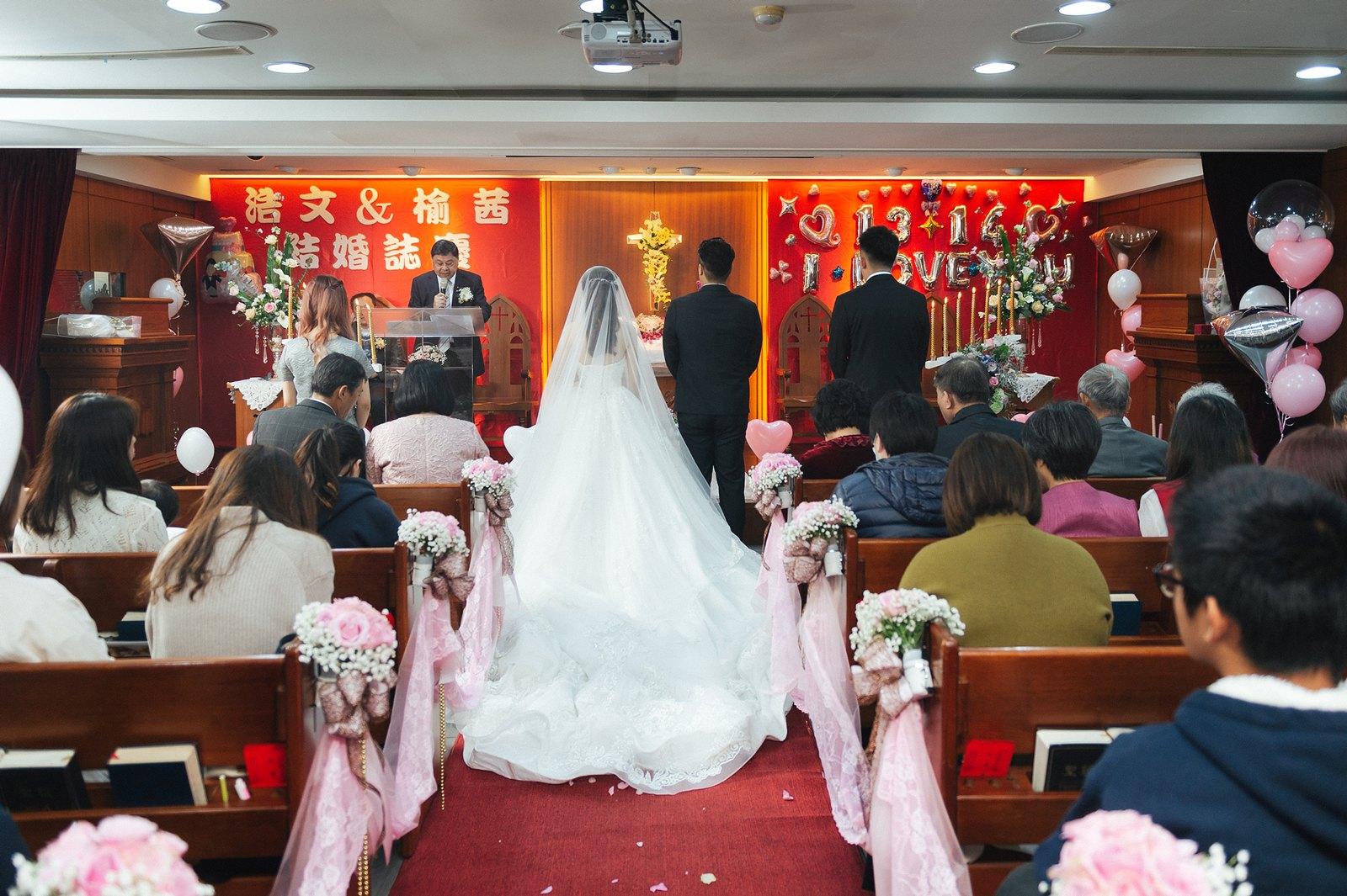 【婚攝】Jack & Emma / 臺灣基督長老教會-厚德教會