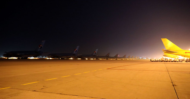 Korean Giants lurking in the night