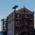 Stalwart Building in the Evening