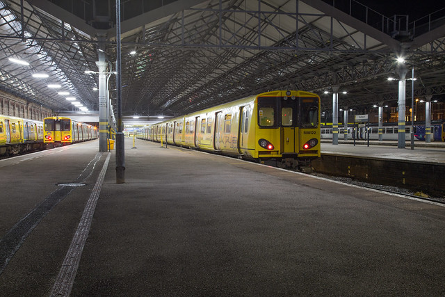 Merseyrail 508 122 Southport
