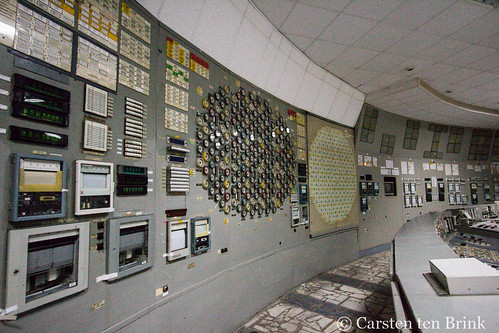 Chernobyl Exclusion Zone - inside the power plant