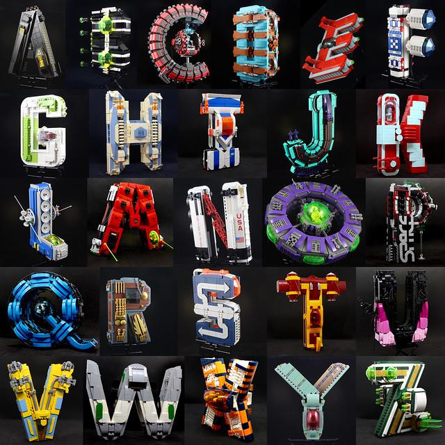 Alphabet starfighter group