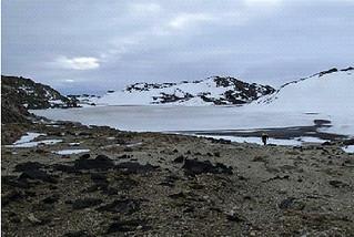 lago antartico