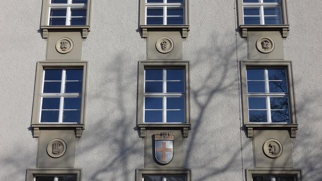 1937/38 Berlin Bauschmuck Rathaus Tempelhof von Hellmut Dellius Tempelhofer Damm 165-169 in 12099 Tempelhof