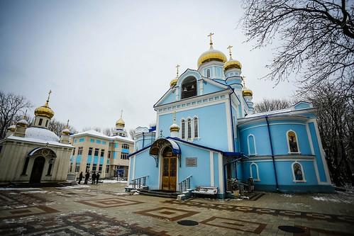 18 марта 2020, Митрополит Кирилл совершил Литургию Преждеосвященных Даров в Успенском храме г. Ставрополя