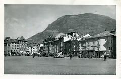 postcard - bolzano - piazza walter - anni 50