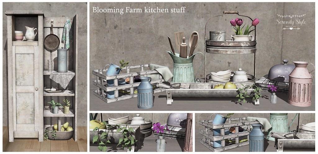 Serenity Style-Blooming Farm kitchen stuff ad