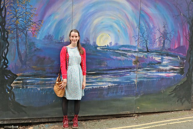 Claire and Street Art