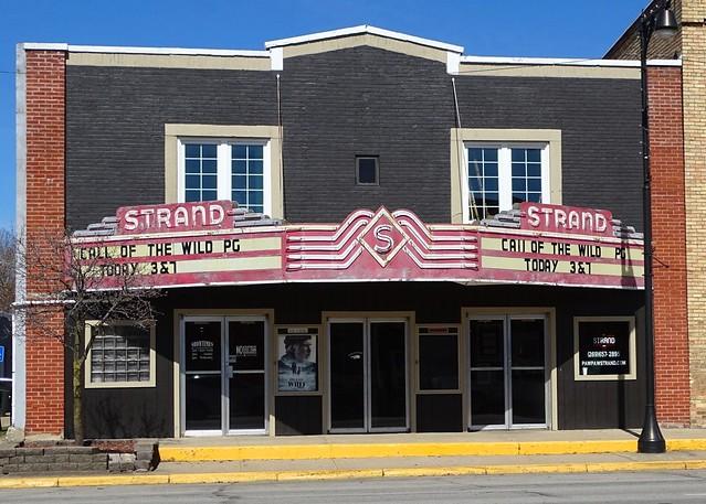 MI, Paw Paw-U.S. 12(Old) Strand Theater