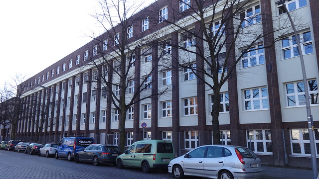 1938 Berlin Erweiterung Funkwerk der Conrad Lorenz AG Volkmarstraße 16-24/Colditzstraße 34-36 in 12099 Tempelhof