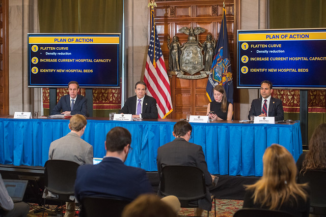 Amid Ongoing COVID-19 Pandemic, Governor Cuomo Announces Deployment of 1,000-Bed Hospital Ship 'USNS Comfort' to New York Harbor