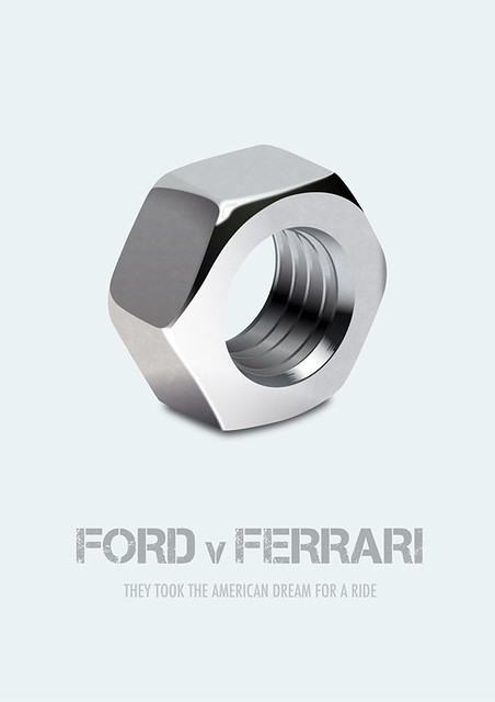 Ford v Ferrari - Alternative Movie Poster