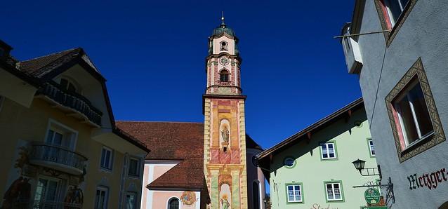 Mittenwald - Baroque Steeple