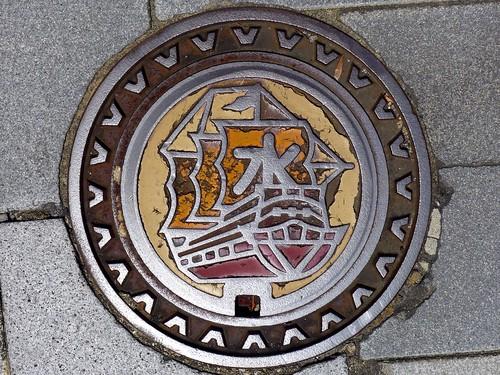 Hirado Nagasaki, manhole cover (長崎県平戸市のマンホール)