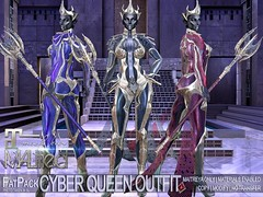 MALified - Cyber Queen Outfit - FatPack Part1