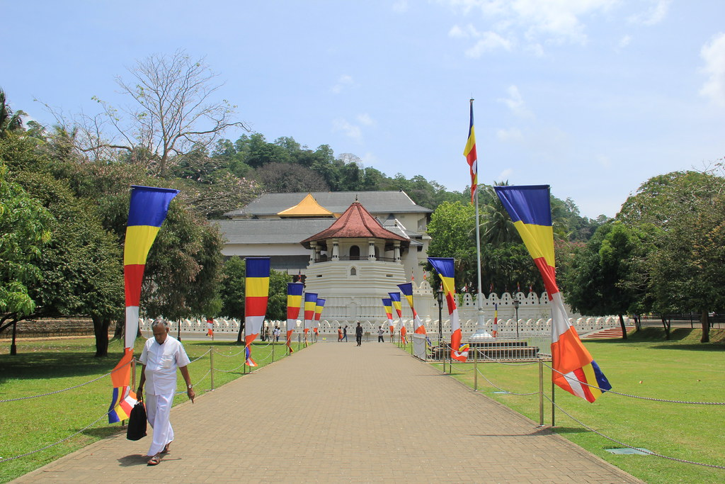 The Temple of the Sacred Tooth, Kandy