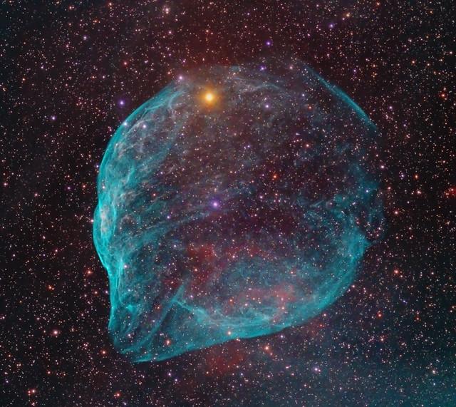SH2-308 - The Dolphin Nebula