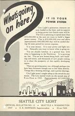City Light bulletin, 1947