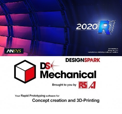 ANSYS SpaceClaim+DesignSpark Mechanical 2020 R1 full license