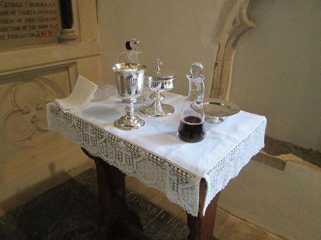 Dedication of Altar Linen