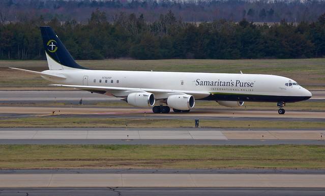N782SP DC-8-72CF Samaritan's Purse