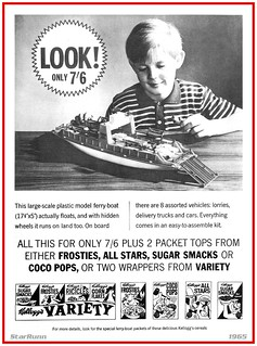 Kellogg's Variety - Ferry-Boat  1965