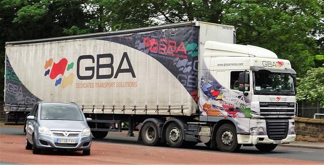GBA Services DAF XF Y9 GBA