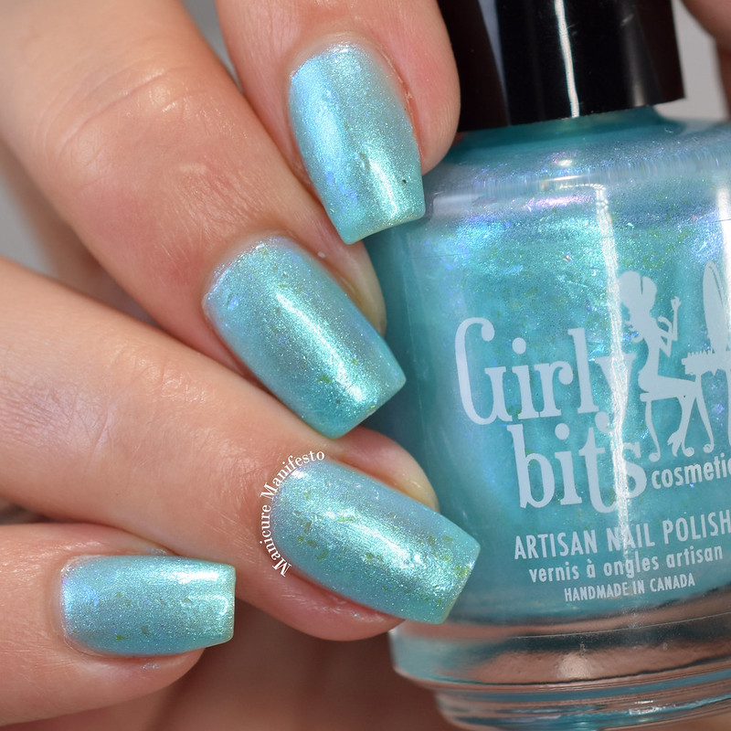 Girly Bits Cosmetics You Look Marble'ous review