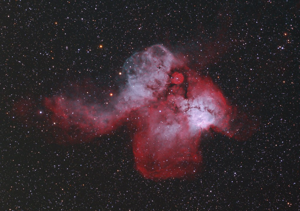 NGC2467 - Skull and Crossbones Nebula