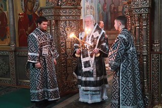 18.03.2020 | Литургия Преждеосвященных Даров в Иверском монастыре
