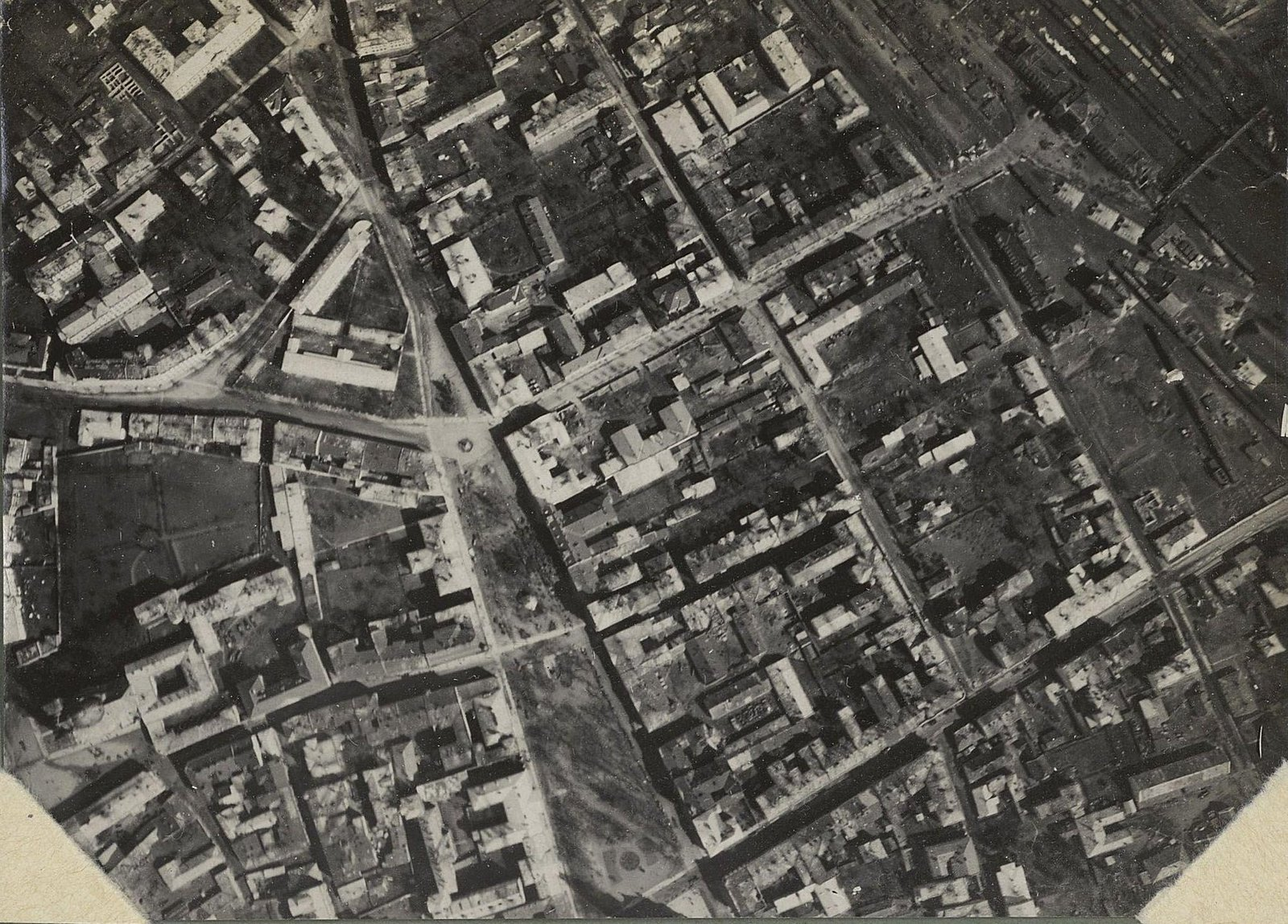 10. 1917. Тарнополь, снятый с аэроплана