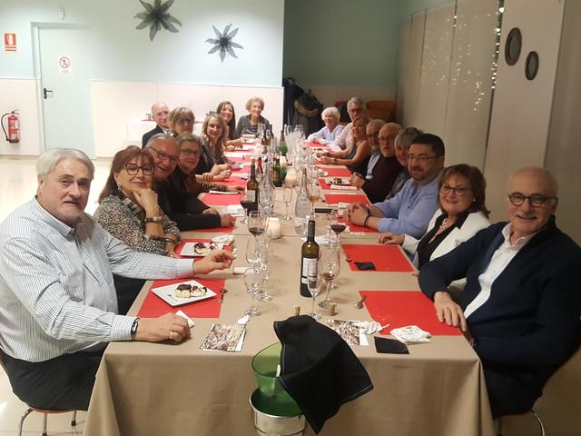 2019-12-14 Sopar de Nadal i Entrega aliments a Càritas