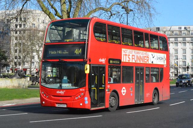 SN59 AVX (9510) Abellio London