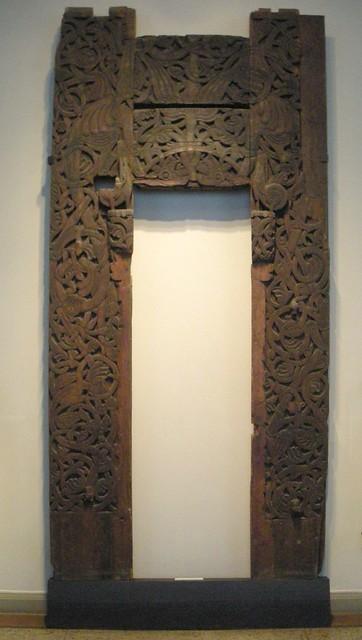 Portal fra Atrå stavkirke