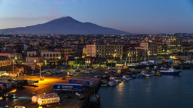 Catania Sicily Mt. Etna