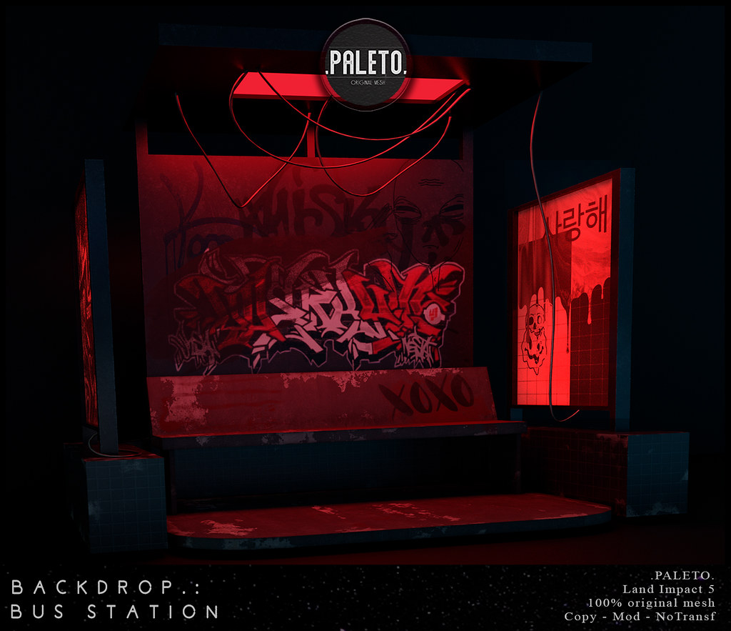 .PALETO.Backdrop:. Bus Station