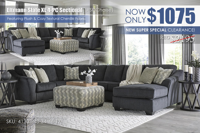 Eltmann XL 4-Piece Sectional wChaise_SuperSpecial_41303-48-34-46-17-08