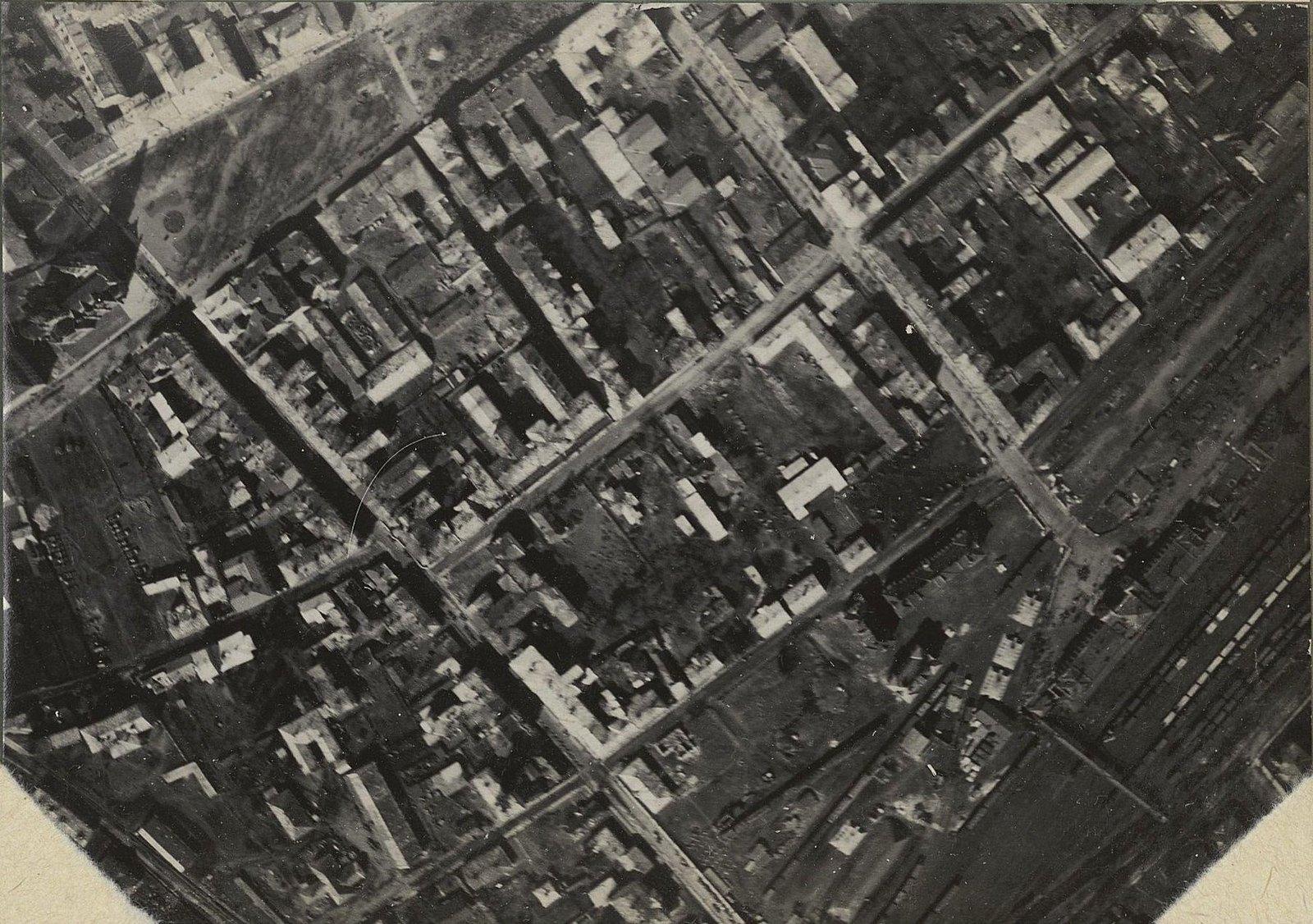 26. 1917. Тарнополь, снятый с аэроплана