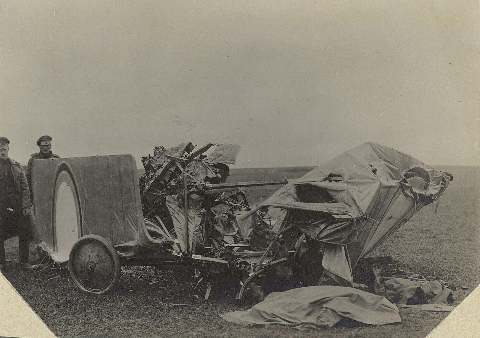 20. 1916. Лётчик Исполатов и моторист Вавилов, разбившиеся близ Вишневуса. 17 сентября