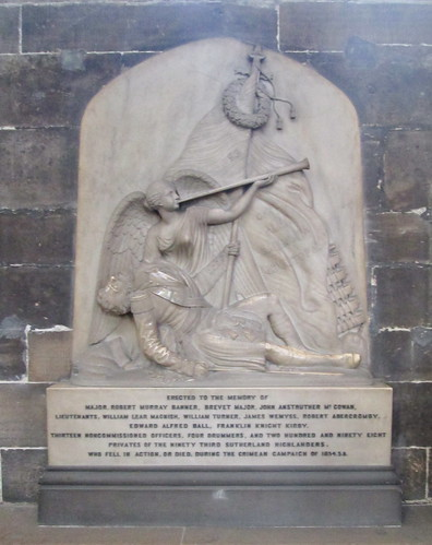 Memorial to Sutherland Highlanders of the Crimean War
