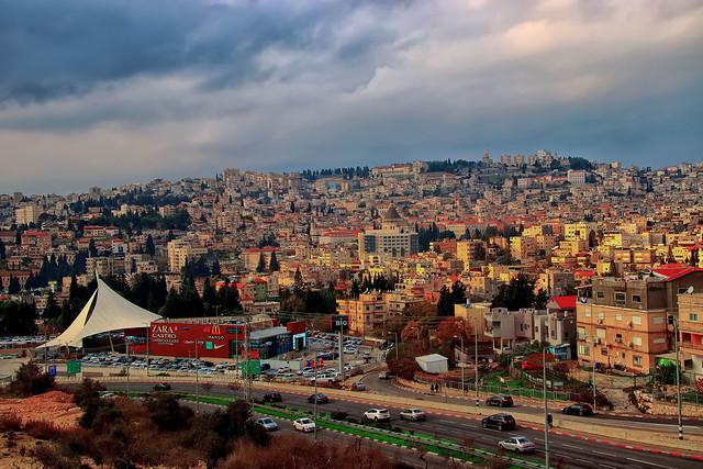 Nazareth in evening